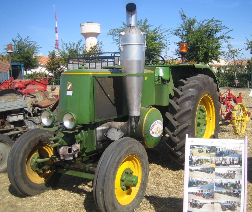 F te des battages l 39 ancienne st jean de thouars 79100 tracteurs anciens batteuses - Cars et les tracteurs ...